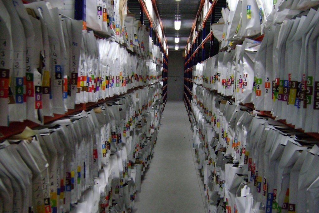 digitalización archivos hospital
